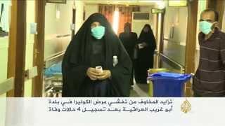 فيديو.. مخاوف من تفشي مرض الكوليرا فى أبوغريب العراقية