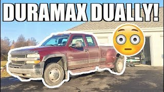 Should I Buy This Super Cheap Dually?!?! New Duramax Project...