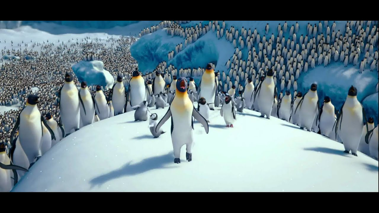 Happy Feet Two, HD, Under Pressure, Rhythm Nation - YouTube