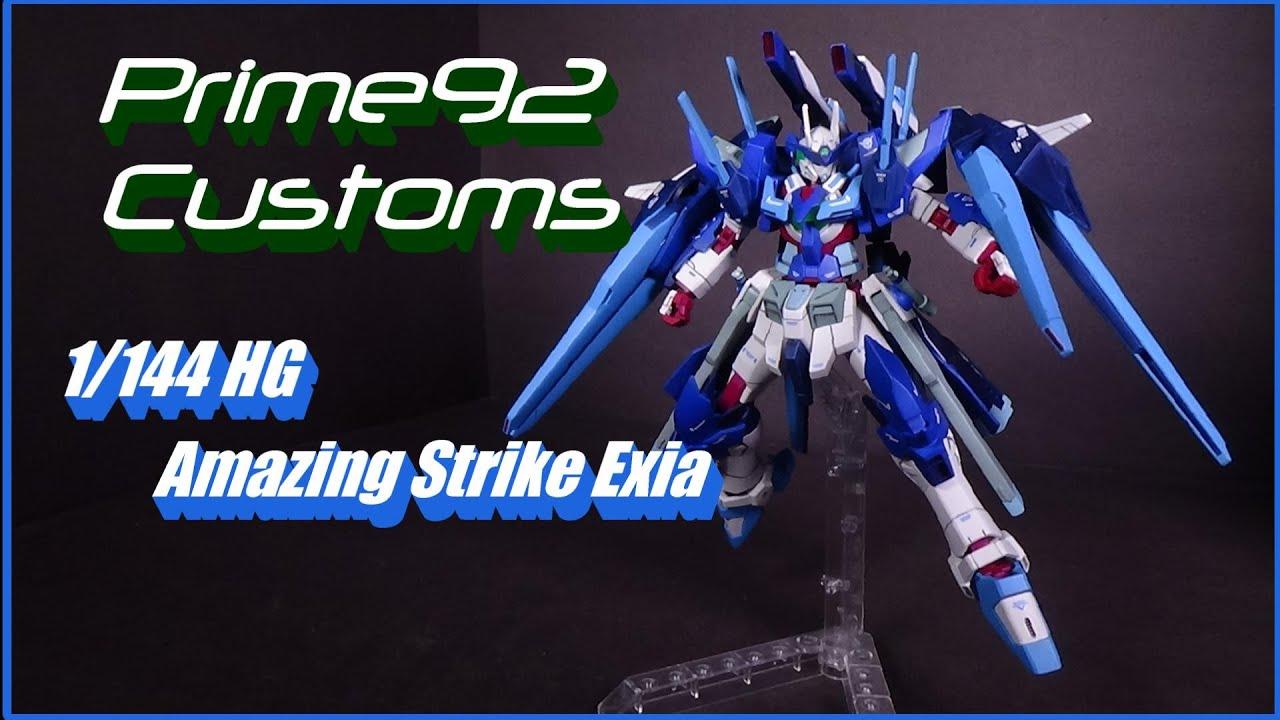 Download Prime92 Customs: 1/144 HG Amazing Strike Exia