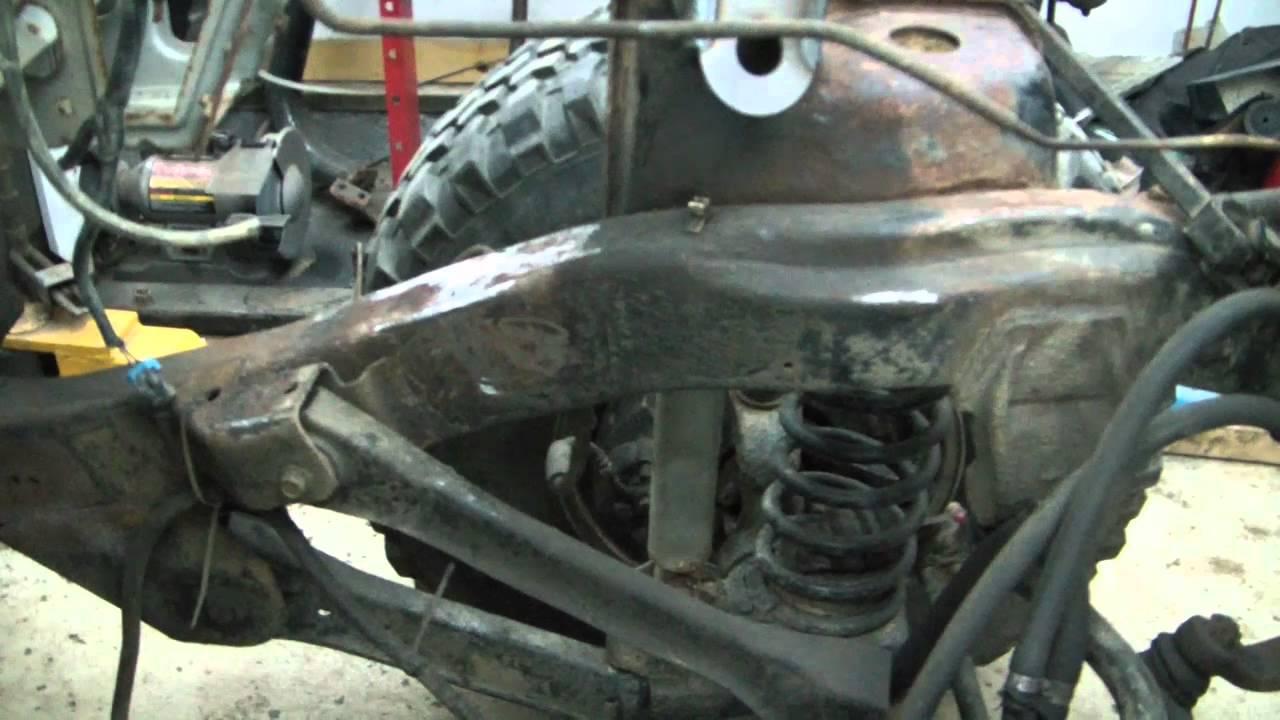 TJ Jeep project V8 swap 12 (engine mock up)  YouTube