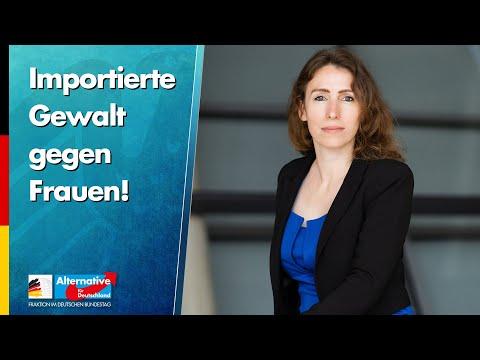 Importierte Gewalt gegen Frauen! - Mariana Harder-Kühnel - AfD-Fraktion im Bundestag