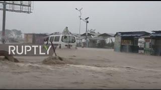 """أوباما يعلن حالة الطوارئ في فلوريدا بسبب إعصار """"ماثيو"""""""