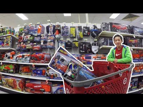 THE BIGGEST NERF SHOPPING SPREE YET | Nerf Shopping #5