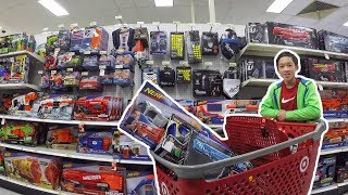 THE BIGGEST NERF SHOPPING SPREE YET | Nerf Shopping #5