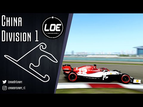 F1 2019 |League of Europe | Division 1 |Season 3 | Round 3 | China