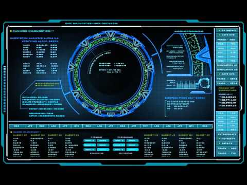 Stargate Atlantis Pegasus Gate Diagnostic 10 Hours