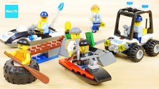 レゴ シティ タイヤで脱走 60126  島の脱走劇 60127 / LEGO CITY Tire Escape 60126,  Prison Island Starter Set 60127
