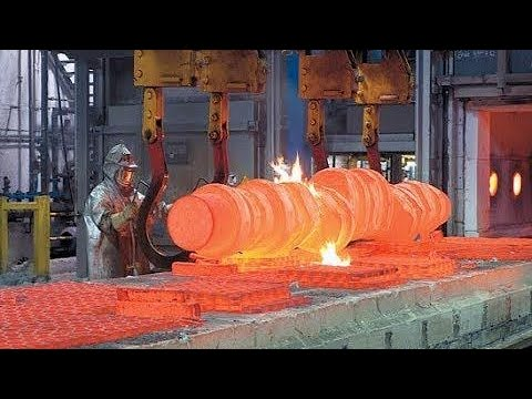 Amazing Factory Heavy Metal -  Modern Forming Technology,  Hot forging  process