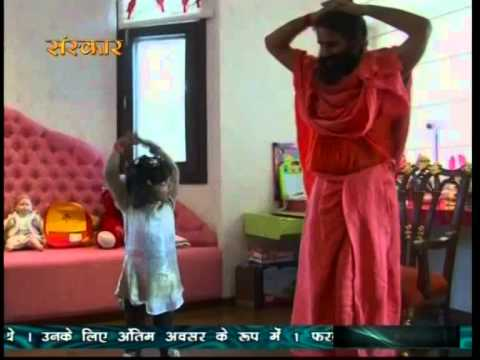 Benefits of Animated Yoga Video on Aastha TV on Children
