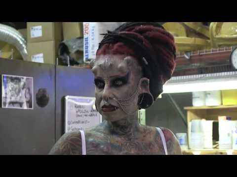Audrey meets the Mexican Vampire Woman - 2011