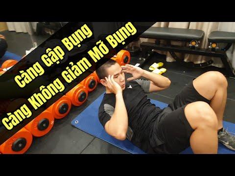 Càng Gập Bụng Càng Không Giảm Mỡ Bụng - Junie HLV Ryan Long Fitness
