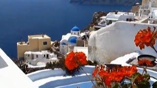 Остров Санторини Греция(Видеоролик об острове Санторини, Греция. Заказать монтаж вашего видео http://www.video.alanstudio.ru/, 2014-05-30T13:06:45.000Z)