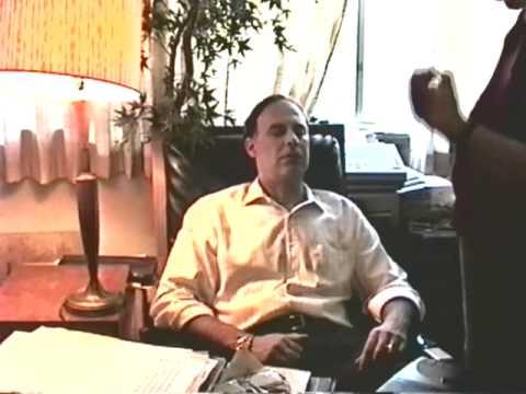 Ormond McGill Hypnotist Hypnotizing Me Tom Silver In His Home In 1994