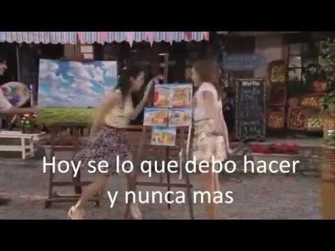 Junto A Ti Mi Mejor Amiga Eres Tú Violetta Letra Youtube