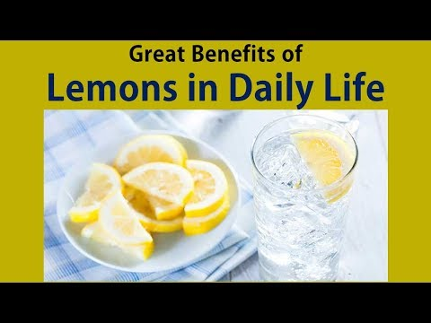 Great Benefits of Lemons in Daily Life  - Top 4 Benefits of Lemon