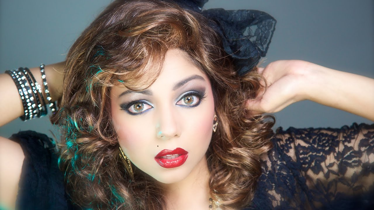 1980s Inspired Makeup Look Charisma Star Youtube