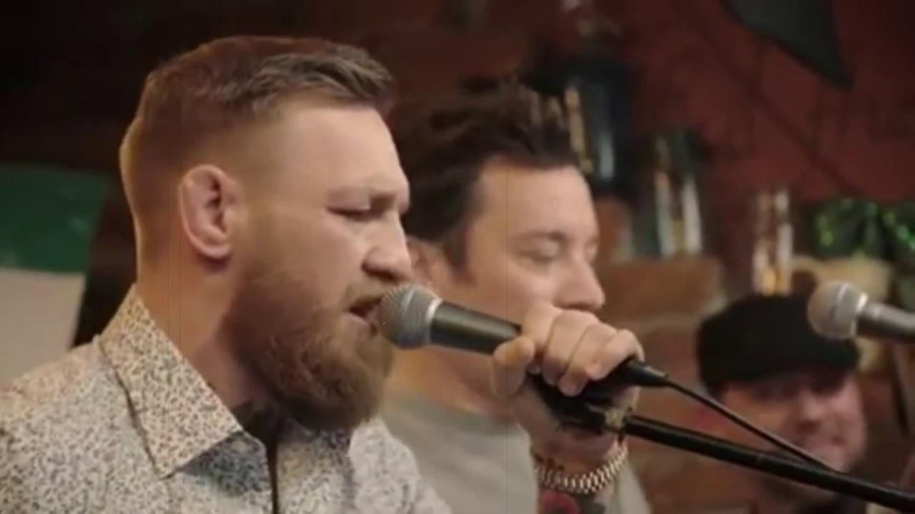 Whiskey in the Jar - поёт пьяный Конор МакГрегор   drunk McGregor sings METALLICA
