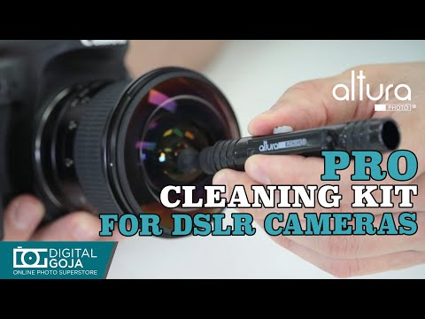 Cleaning Kit for DSLR Cameras and Sensitive Electronics by Altura Photo   REVIEW