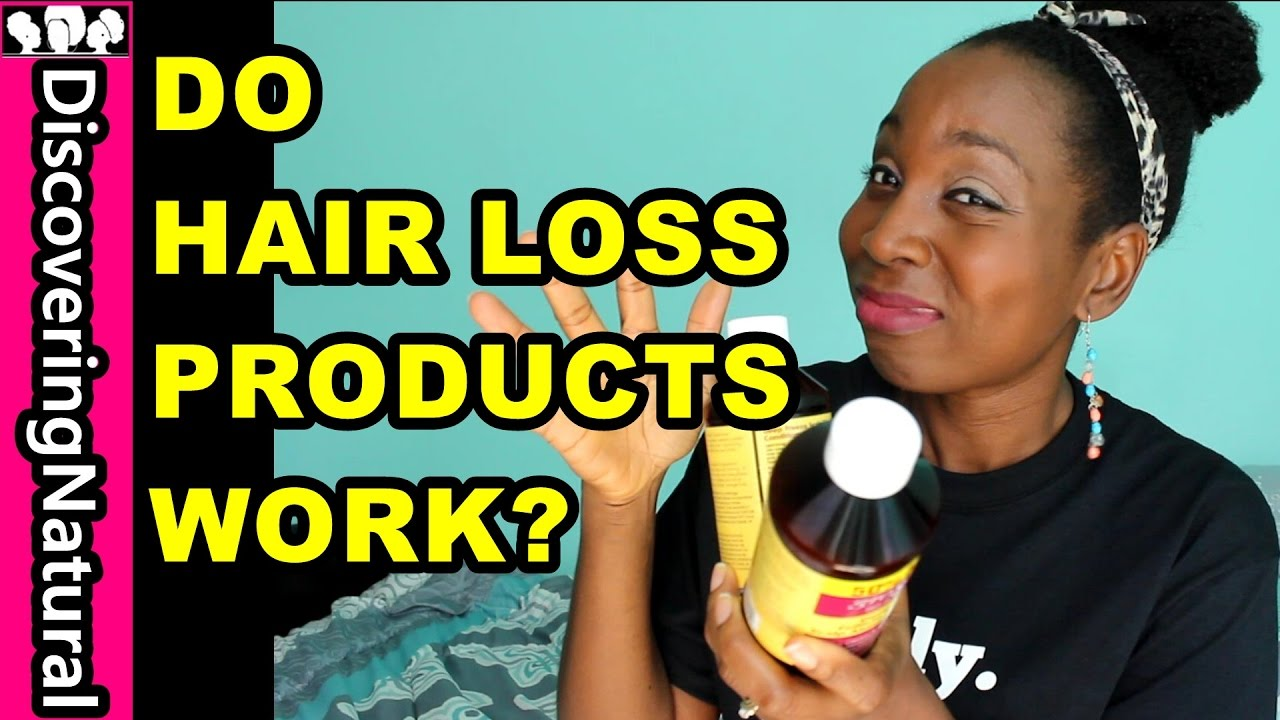 hair loss products work