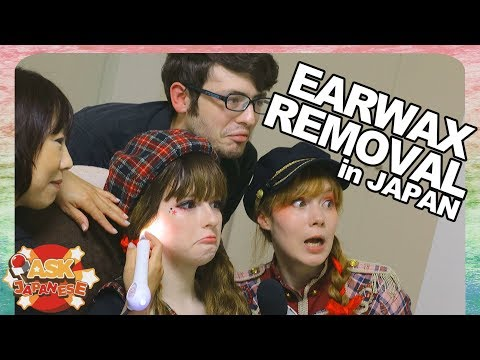 USA Girl's 1st Time At The JAPANESE EAR SALON: Ear Massage, Ear Acupuncture And More