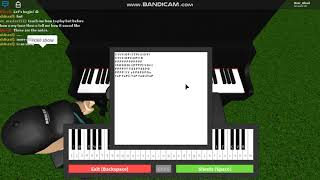 Roblox-Piano Keyboard v1.1- Verblasstes Tutorial!