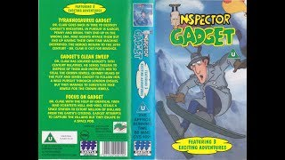 Inspector Gadget: Featuring 3 Excited adventures (1983 UK VHS)