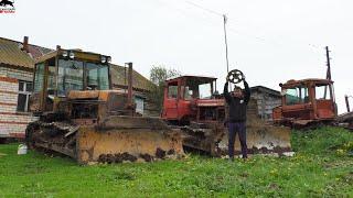 Первое ЗАДАНИЕ на ДТ 75, и сразу так ОПОЗОРИТЬСЯ! Утопил трактор и потерял КАТОК!
