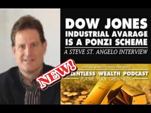 LATEST UPDATES Steve St Angelo: Dow Jones Industrial Average is a Ponzi Scheme