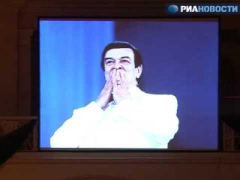 прощание с муслимом магомаевым в москве фото