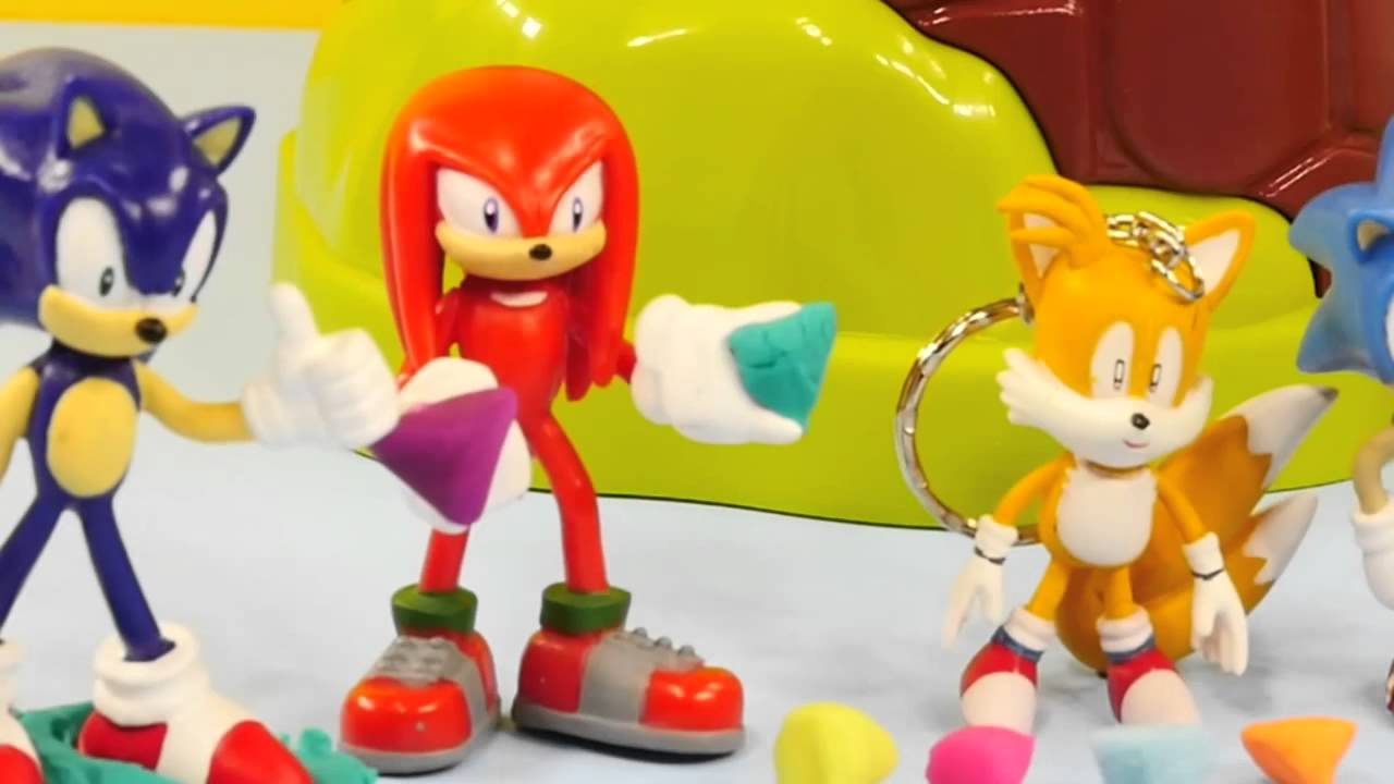 AMY THE HEDGEHOG Giant Play Doh Surprise Egg - Sonic Boom Toys ...