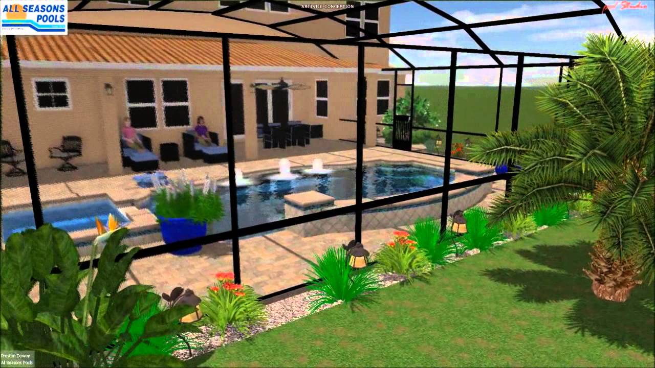 Pool builder jacksonville another backyard retreat youtube for Pool builders jacksonville