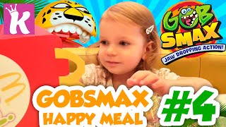 Распаковка Игрушек Хэппи Мил Гобсмакс Gobsmax toys unboxing Happy Meal