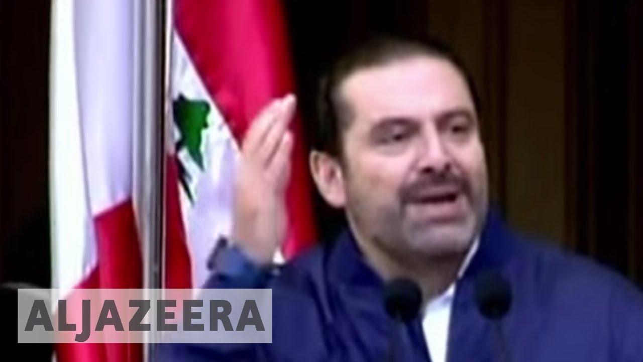 Lebanon's PM Hariri defers resignation for dialogue