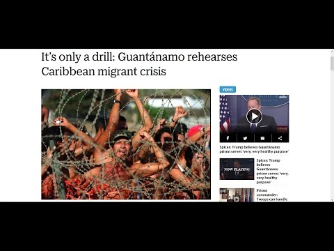 This is a Drill! U.S. Government Prepares for Mass Migrant Crisis