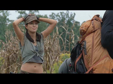 Christian Serratos as Rosita Espinosa in Walking Dead