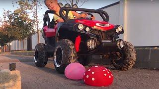 Веселая история о том как Маша переехала игрушки