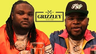 Tee Grizzley and Fatboy SSE Talk Fattest Rapper in the game Dinner with Grizzley