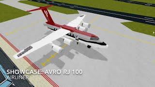 Roblox showcase: Avro RJ-100