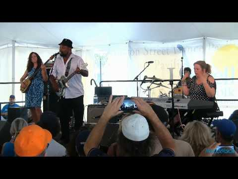 Super Chikan and the Fighting Cocks Live @ The Lowell Folk Festival 7/26/15