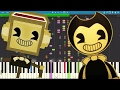 IMPOSSIBLE REMIX - Bendy And The Ink Machine Song - The Devil's Swing - Fandroid - Piano Cover