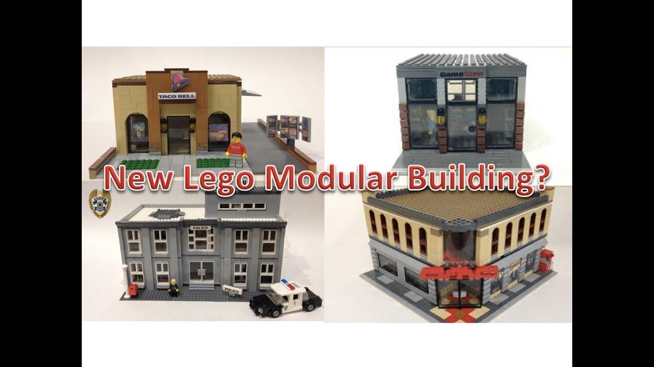 New Lego Custom Modular Building - YouTube - photo#17