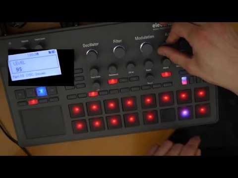 Korg electribe 2/sampler tutorial: Alternate  (Alternate 13-14 and 15-16 modes)
