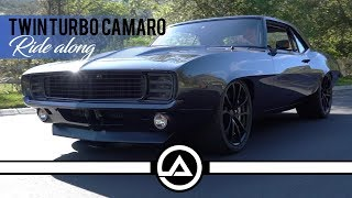 Twin Turbo 1969 Camaro Ride Along...BOOST!!