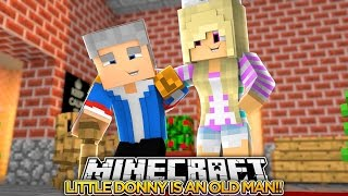 GOING TO THE FUTURE w/ LITTLE DONNY (PART 1)!!!- Minecraft - B…