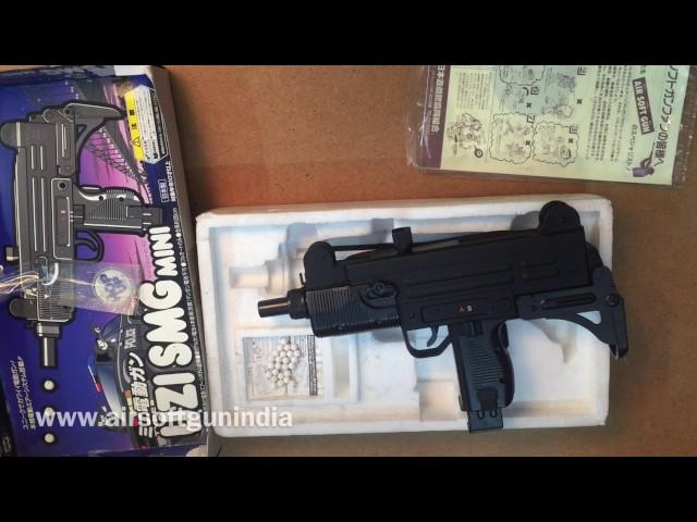 uzi smg electric bb gun EBB by airsoft gun india I secret sale