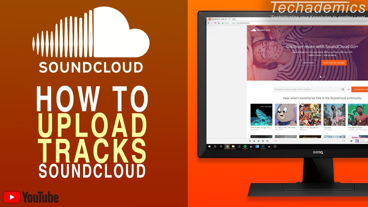 How To Upload a Song On SoundCloud | Upload To SoundCloud on Computer