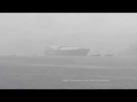 LNG Tanker SCF MITRE arrives in Ferrol