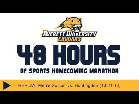 Averett men's soccer vs. Huntingdon