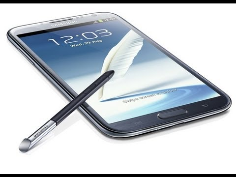 a7bff97822ed6 Samsung Galaxy Note II - Review y Caracteristicas - YouTube